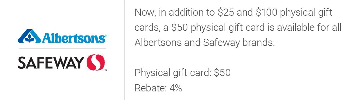 Albertsons Safeway Update