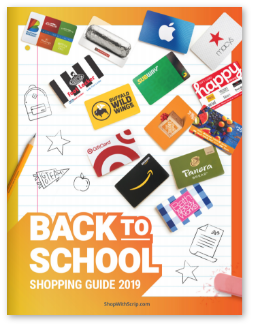 back to school shopping guide cover