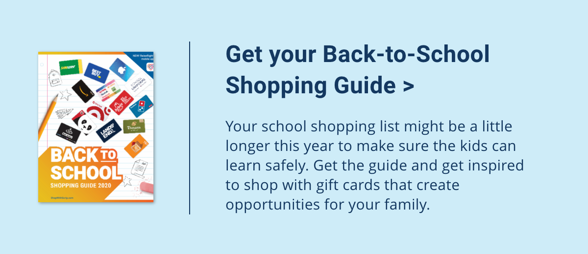 Back to school shopping guide
