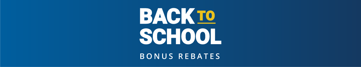 Back to school bonus rebates