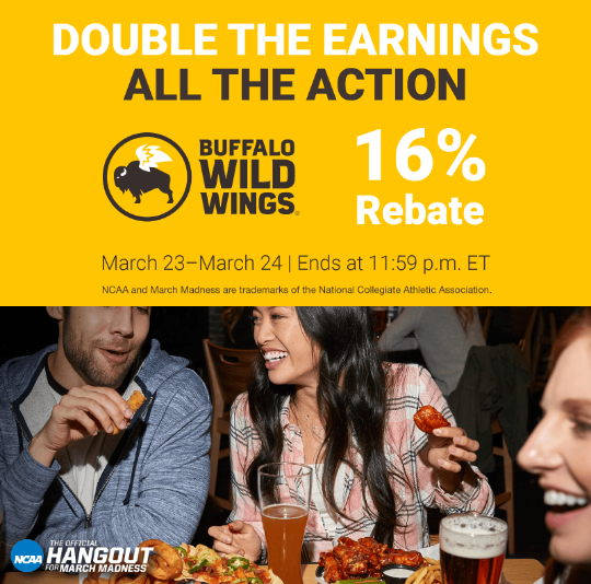 Buffalo Wild Wings Flash Bonus