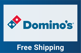 Domino's free shipping