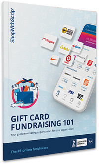 Gift card fundraising kit cover