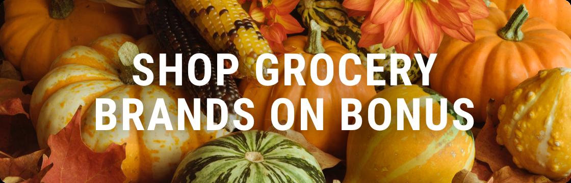 Shop grocery brands on bonus