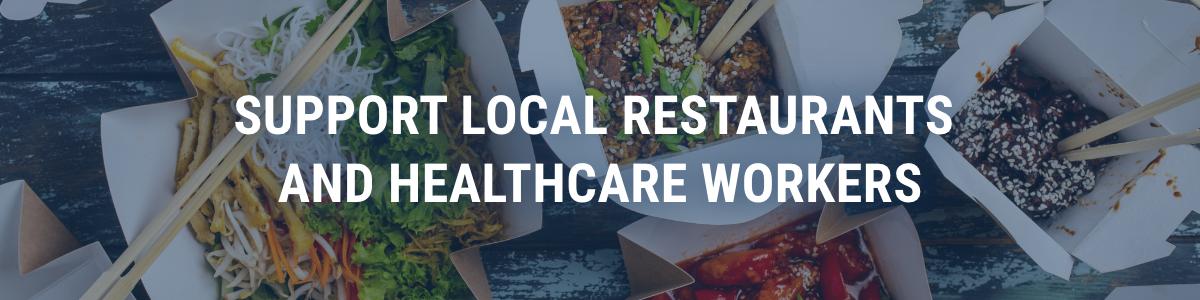 Support local restaurants