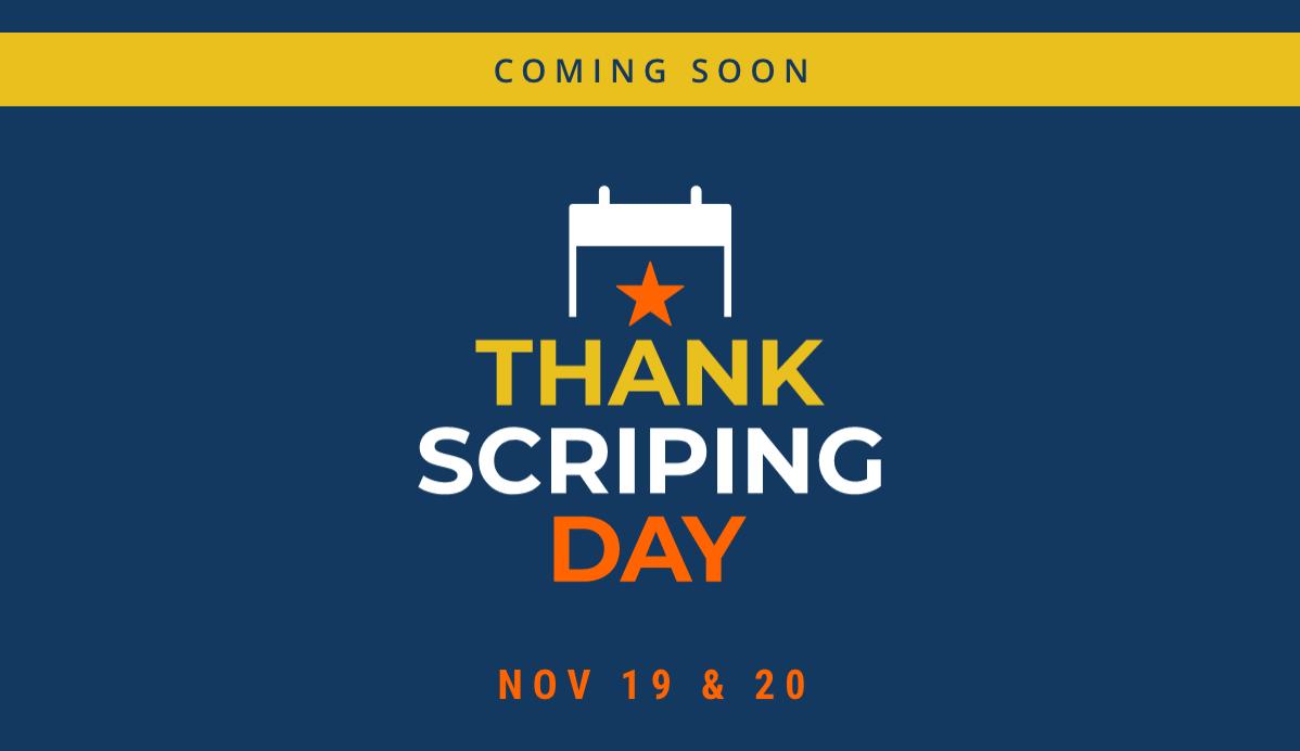 ThankScriping Day