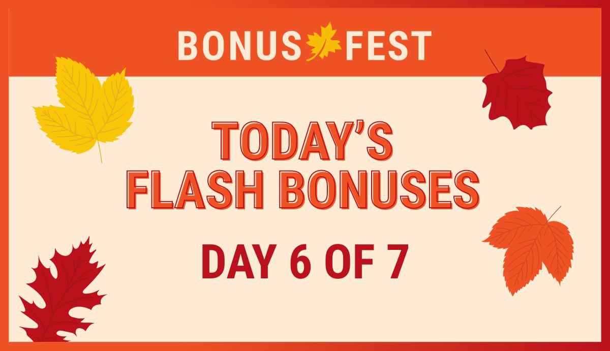 Bonus fest day 6