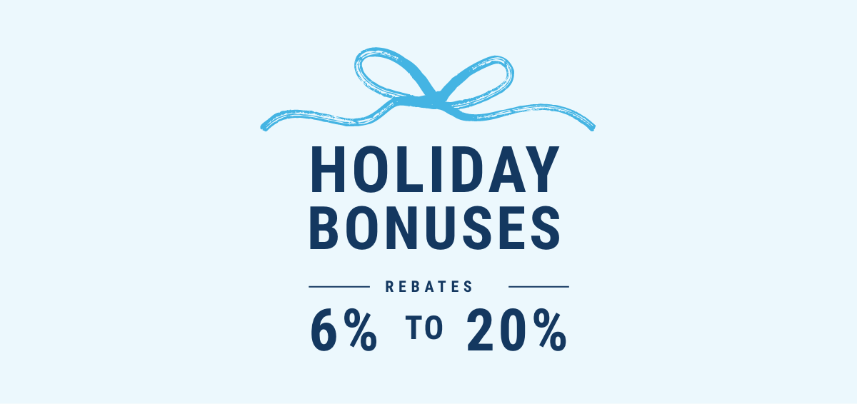 Holiday bonuses