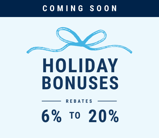 Holiday bonuses