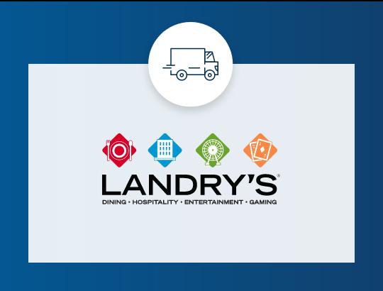 Landry's free shipping