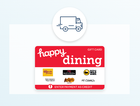 Happy Dining free shipping