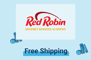 Red robin free shipping